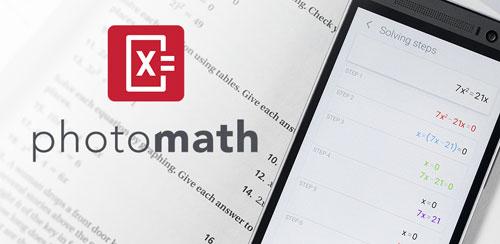حل تمام معادلات ریاضی با برنامه ی photo math اندروید