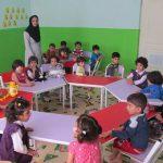 گزارش کارآموزی در مهد کودک گلها